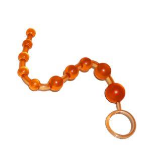 Anální kuličky oranžové