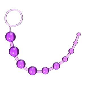 Anální flexibilní kuličky fialové