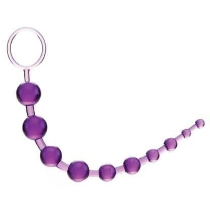 charmly toy analni kulicky 10 koralku fialove 1 416x416 - Anální kuličky fialové