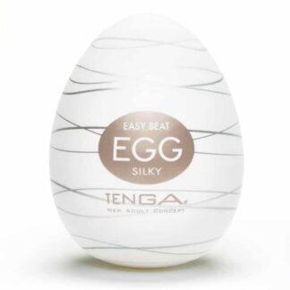 Masturbátor Tenga Egg Silky pro muže